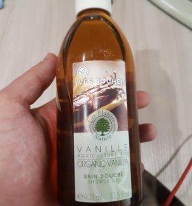 Гель для душа бурбонская ваниль 400мл
