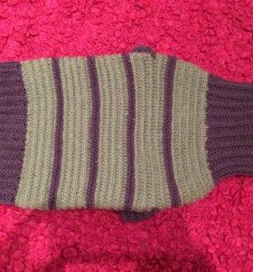 Вязаный свитер для собаки или кошки.