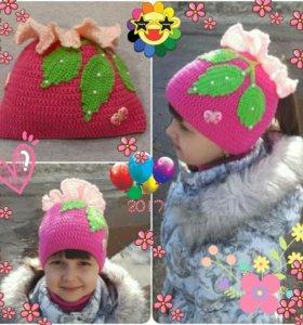 Детские шапочки на заказ и в наличии