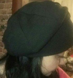 Шапка беретка + шарф