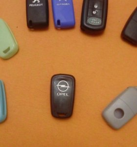 Силиконовый чехол на ключи opel