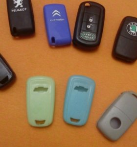 Силиконовый чехол на ключи для автомобиля шевролет