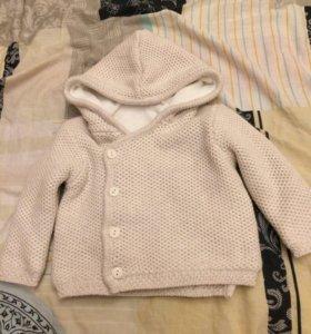 Курточка новая 3-5 месяцев