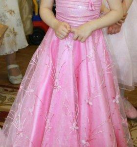 Нарядное платье + накидка