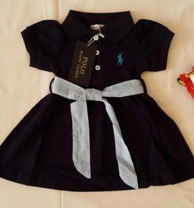 Платье для девочек Ralph Lauren Polo