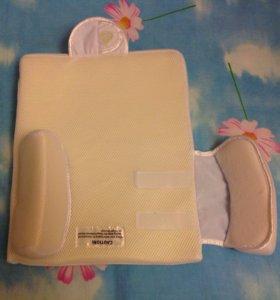 Подушка для новорожденного, ортопедическая.