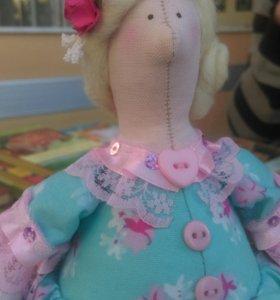 Кукла тильда-толстушка