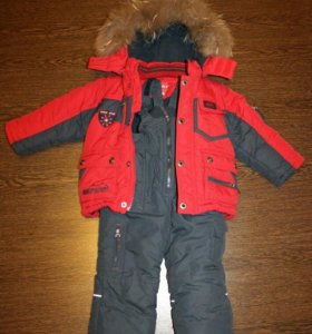 Зимний комплект куртка и комбинезон Kiko