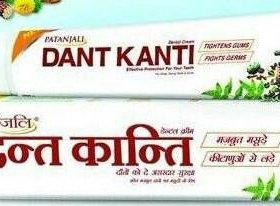Зубная паста Патанджили Дант Канти