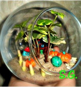 Осенний урожай мини-сад