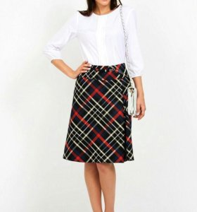 НОВАЯ! р.48-50 качественная стильная модная юбка