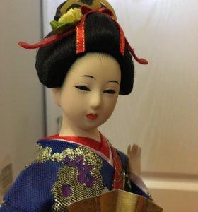 Статуэтка японская кукла 30 см