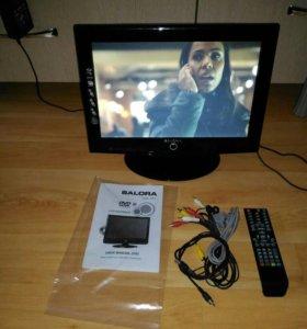 TV, DVD-привод, монитор, HDMI, всё в одном