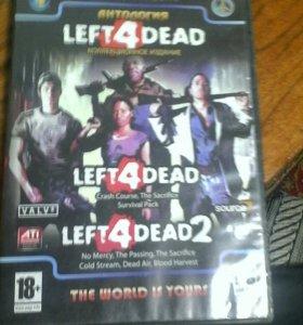 Игра LEFT DEAD 4 +3DLC LEF DEAD 4 +3DLC