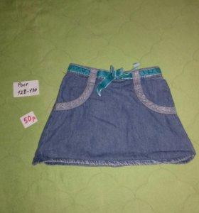Джинсовые юбочки детские 😊