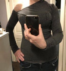 Кофта на одно плечо