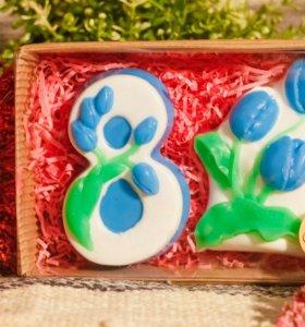 """Подарочный набор мыла """"8 марта. Тюльпаны"""""""
