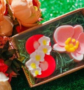 """Подарочный набор мыла """"8 марта. Орхидея"""""""