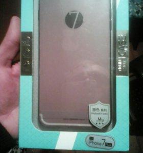Силиконовый бампер Iphone 7+