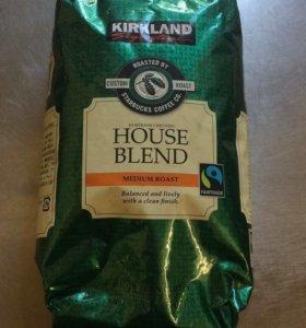 Кофе зерновой Kirkland Signature Starbucks