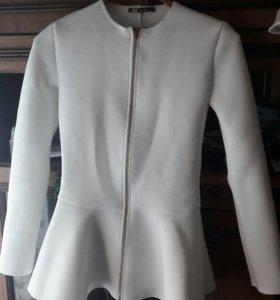 Платье, белая блузка!