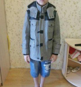 Пальто на 5-7 лет