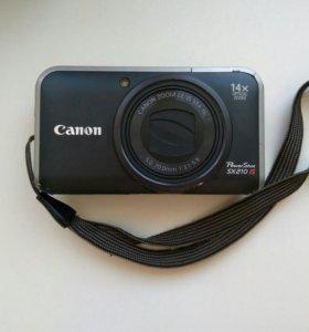 Фотоаппарат Canon Powershot SX210 IS + чехол