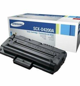 (НОВЫЙ)Оригинальный картридж  Samsung SCX-D4200A
