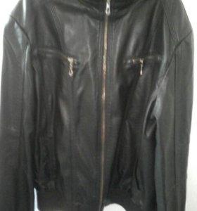 Куртка кожанка больше весене-летний вариант