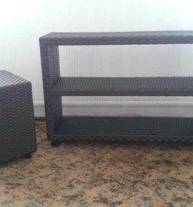 Продам комплект плетеной мебели