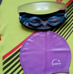 шапочка + очки