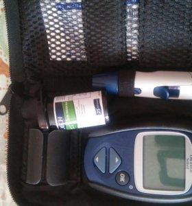 Глюкометр+30пластинок