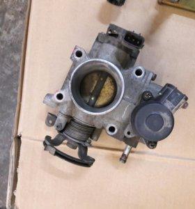 Дроссель ниссан двигатель QG15 QG18
