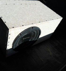 10й сабвуфер в коробе