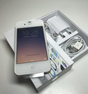 iPhone 4s 16gb новый гарантия