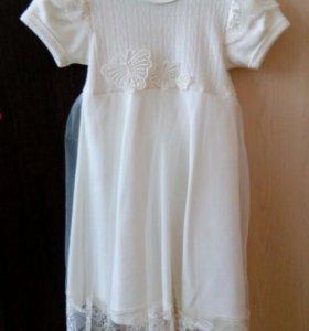 Нежное платье на малышку