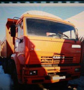 КамАЗ 6522 самосвал 20 т