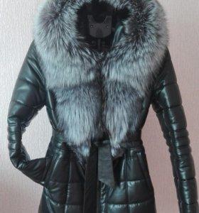 Курточка зимняя с мехом