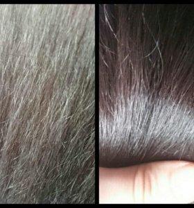 Ботокс для волос, полировка секущихся кончиков