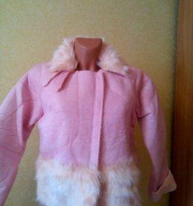 Куртка-дубленка искуственная.Новая.р.М.