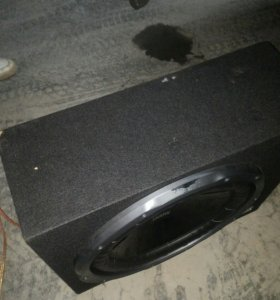 Сабвуфер Sony Xplod 1300w с усилителем Mystery