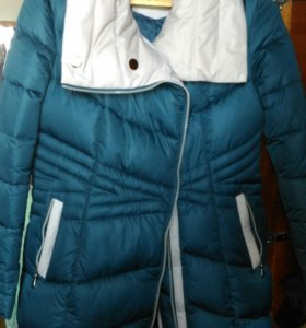 Куртка на синтепоне. Зимняя, очень теплая.