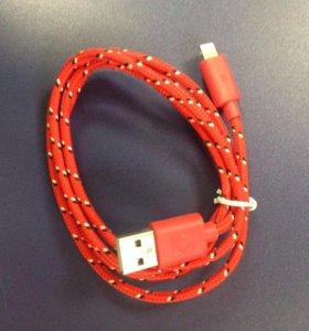 Провода micro USB, iPhone 4,5