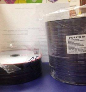 Новые cd/DVD диски