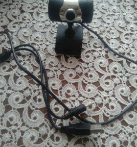 Web camera .mikrafon