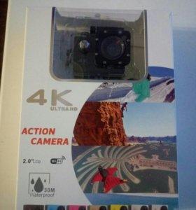 Экшн камера 4k Ultra HD WiFi. Новая