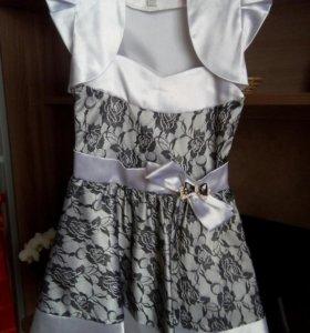 платье на девочку 110-140 рост