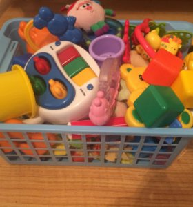 Новые корзины для игрушек и не только