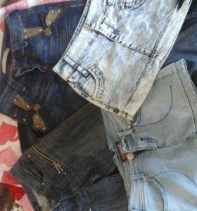 Джинсовые юбки и брюки