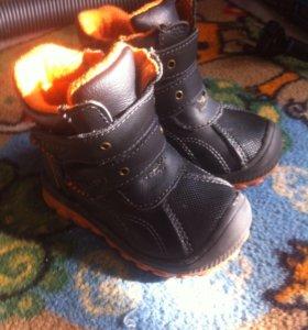 Ботинки демисезонные 20 размер